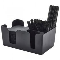 Bar Caddy Black 24 x 15 x 11cm