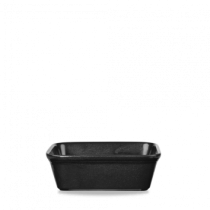 Churchill Cookware Rectangular Dish Black 16 x 12 x 5cm