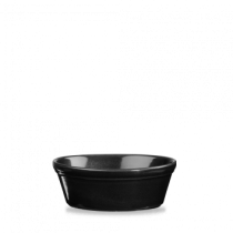 Churchill Cookware Round Pie Dish Black 13.5 x 5cm