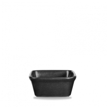 Churchill Cookware Square Pie Dish Black 12 x 12 x 12cm