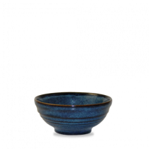Churchill Bit on the Side Ripple Snack Bowls Sapphire 12 x 5.7cm
