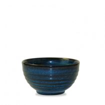 Churchill Bit on the Side Ripple Bowls Sapphire 13 x 7.4cm