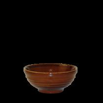 Churchill Bit on the Side Ripple Snack Bowls Cinnamon 12 x 5.7cm