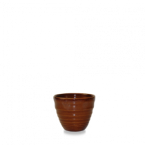 Churchill Bit on the Side Ripple Dip Pot Cinnamon 5.9 x 5cm