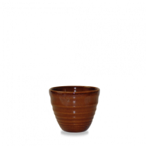 Churchill Bit on the Side Ripple Dip Pot Cinnamon 7 x 6.2cm