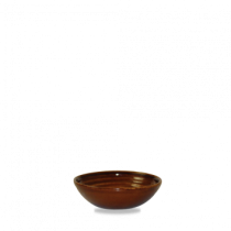 Churchill Bit on the Side Ripple Dip Dish Cinnamon 11.3 x 3.5cm
