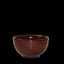 Churchill Bit on the Side Ripple Bowls Cinnamon 13 x 7.4cm