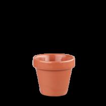Churchill Bit on the Side Plant Pot Paprika 9 x 9.7cm