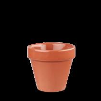 Churchill Bit on the Side Plant Pot Paprika 10.4 x 10.9cm