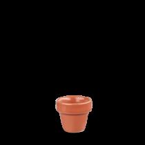 Churchill Bit on the Side Plant Pot Paprika 5.5 x 5.8cm