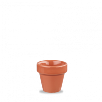 Churchill Bit on the Side Plant Pot Paprika 6.7 x 6.9cm