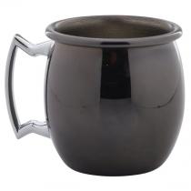 Mini Gun Metal Black Barrel Mug 6cl/2oz