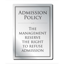 Admission Policy Notice