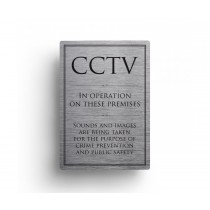 CCTV In Operation Sounds And Images Notice