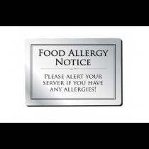 Food Allergy Bar Notice