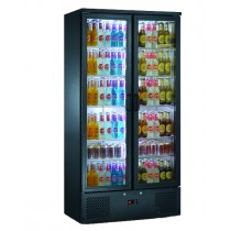 Blizzard BAR20 Upright Back Bar Bottle Cooler Black