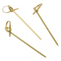 Bamboo Knot Picks 9cm