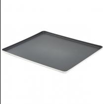 Genware Non Stick Aluminium Baking Tray GN 2/3
