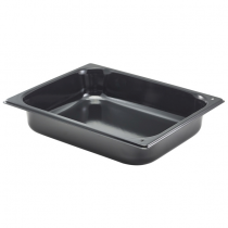 Genware Enamel Baking Tray GN 1/2 325 x 265 x 65mm