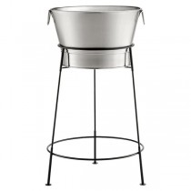 Single Wall Stainless Steel Beverage Tub Set