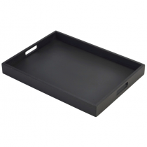 Butlers Tray Black 44 x 32 x 4.5cm