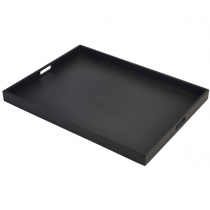 Butlers Tray Black 64 x 48 x 4.5cm