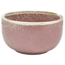 Terra Porcelain Rose Round Bowl 12.5 x 6.5cm