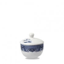 Churchill Vintage Prints Blue Willow Sandringham Sugar Bowl 9cm