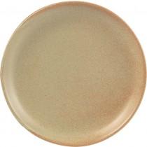Rustico Flame Vitrified Stoneware Plates 24cm