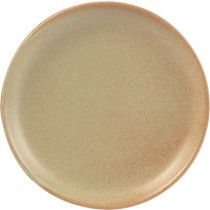 Rustico Flame Vitrified Stoneware Plates 19cm