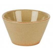 Rustic Flame Conical Bowl 11cm