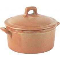 Rustico Flame Lidded Casserole Dish 42.5cl / 15oz