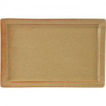 Rustico Flame Rectangular Tray 31 x 20.5cm