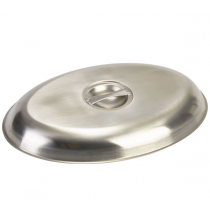 Stainless Steel Cover for Oval Vegetable Dish 35cm