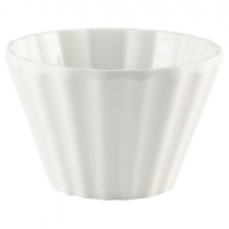 Genware Cupcake Melamine Ramekin White 90ml / 3oz