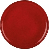 Rustico Lava Red Pizza Plate 33cm
