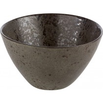 Rustico Black Ironstone Deep Bowl 15 x 8cm
