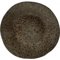 Rustico Black Ironstone Main Plate 28.5cm