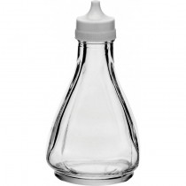 Vinegar Bottle with White Plastic Lid
