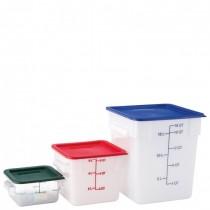 Carlisle StorPlus 7.6L Square Container Clear