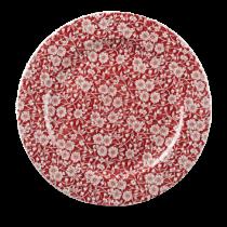 Churchill Vintage Prints Cranberry Victorian Calico Plate 30.5cm