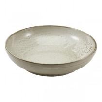 Terra Porcelain Grey Coupe Bowl 27.5 x 6.5cm