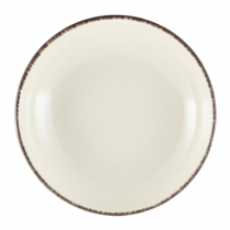 Terra Stoneware Coupe Bowl Sereno Grey 23 x 5cm