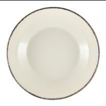 Terra Stoneware Coupe Bowl Sereno Grey 27.5 x 6.5cm