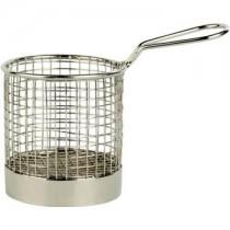 Stainless Steel Service Basket 9 x 9cm
