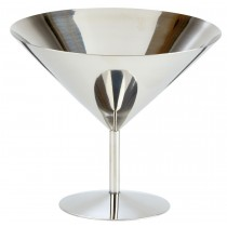Stainless Steel Martini Glass Short 7.75oz