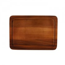 Acacia Cutting Board with Groove 28.5 x 40 x 2cm