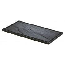 Ceramic Rectangular Slate Platter 33 x 17.5cm