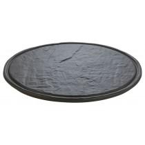 Ceramic Round Slate Platter 32cm