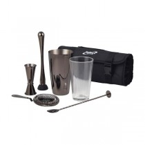 Gun Metal Cocktail Bar Kit